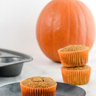 Pumpkin Spice Protein Muffins.