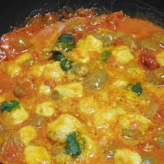 Gnocchi with Thai Tomato-Curry Sauce.