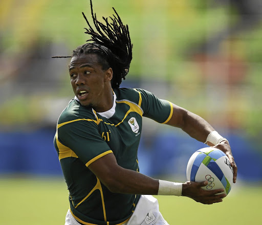 Cecil  Afrika is a  stalwart in  the Blitzboks  set-up and is  a former  sevens player  of the year. Picture: EPA