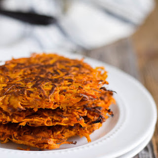 3 Ingredient Sweet Potato Hash Browns.