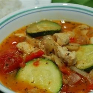 Zucchini and Pork Soup