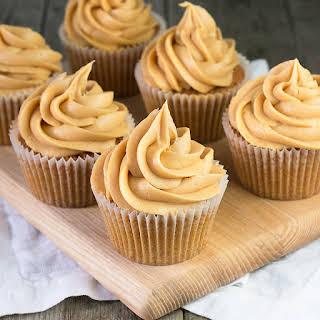 Caramel Cupcakes.