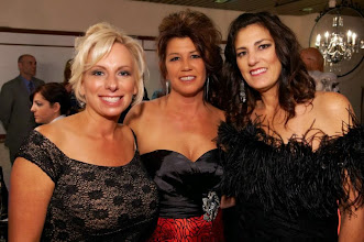 Photo: Lisa Werstler, Crystal Torrence and Christine Ridgway enjoy the VIP Lounge during the 2013 Imagine! Harvest Ball.