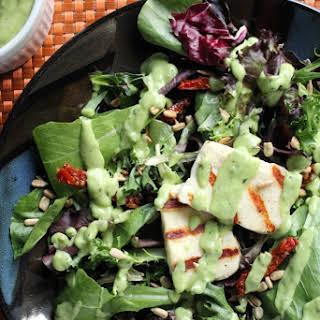 Grilled Halloumi Salad.