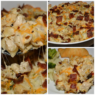 Chicken Bacon Ranch Casserole Recipes