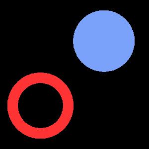 Tic Tac Toe Dot Icon