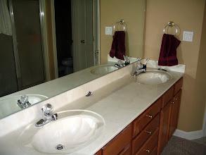 Photo: Double vanity