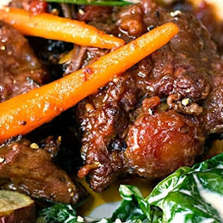 Oxtail in a Pressure Cooker.