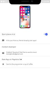 XOutOf10 - Iphone X UI Prank - náhled