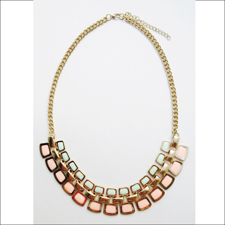 N001 - M. Macaron Palette Necklace by House of LaBelleD.