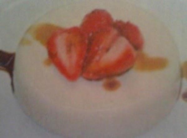 Panna Cotta With Balsamic Strawberries Recipe