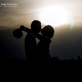 by Marco Angeri - Wedding Bride & Groom