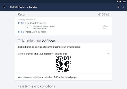 Captain Train: train tickets Screenshot 13
