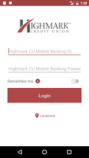 Highmark CU Mobile Banking- screenshot thumbnail