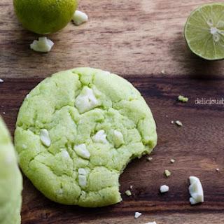 Key Lime White Chocolate Cookies