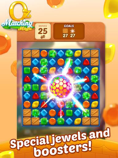 Matching Magic: Oz - Match 3 Jewel Puzzle Games screenshot 11