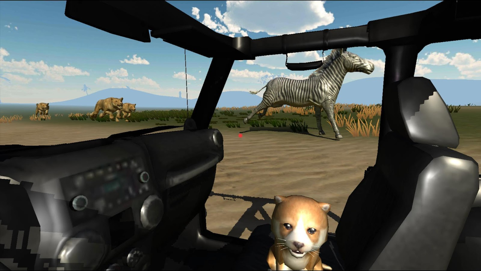 VR Safari - Google Cardboard Game- screenshot