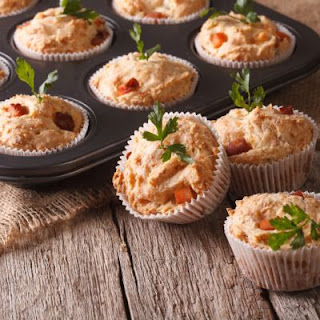 Hearty Ham Dinner Muffins