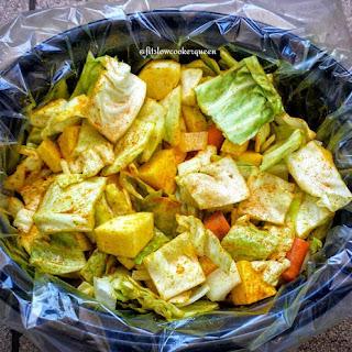Slow Cooker Ethiopian Cabbage.