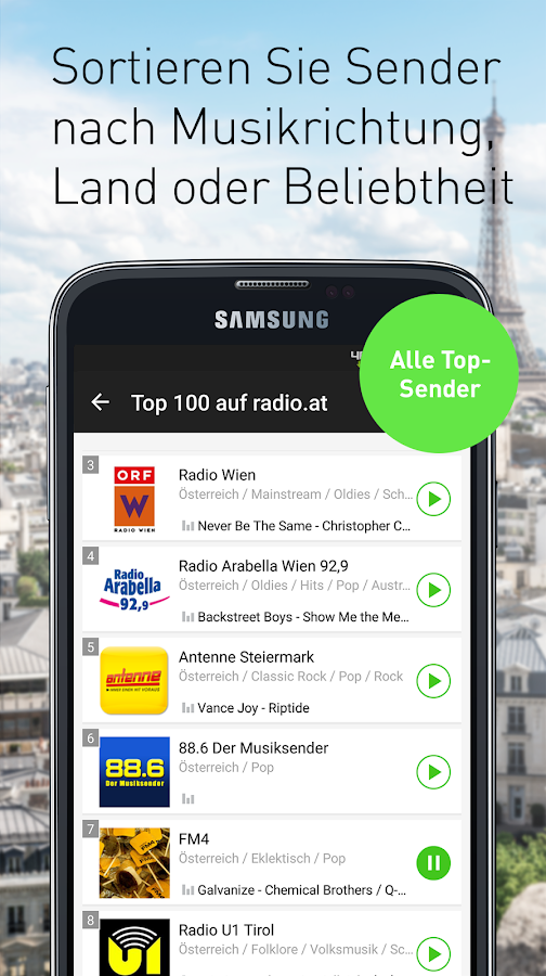 radio.at - Der Radioplayer- screenshot