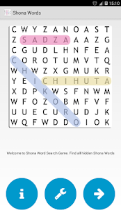 Shona Word Search- screenshot thumbnail