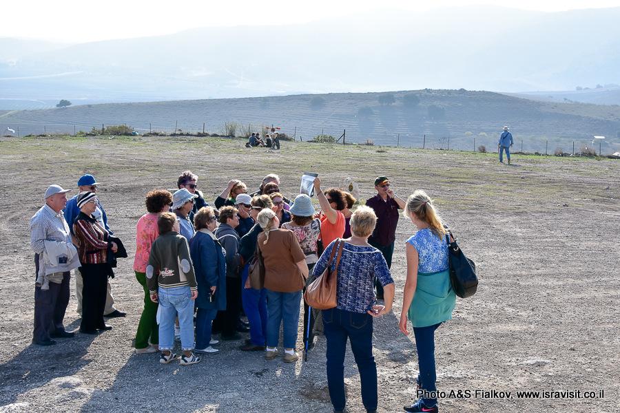 На экскурсии в Бейт Шеарим гида по Израилю Светланы Фиалковой.