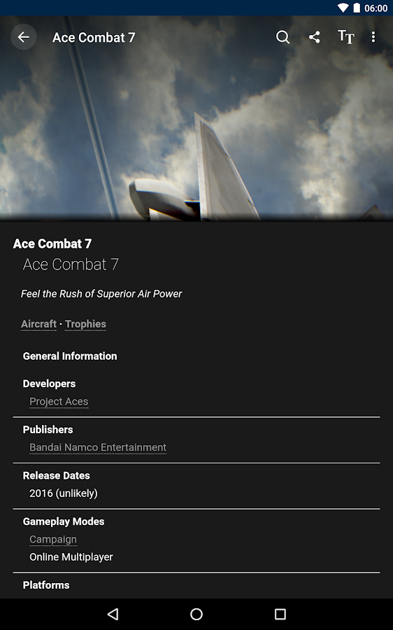 FANDOM for: Ace Combat- screenshot