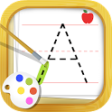 ABC Tracing for Preschool Kids Free Phonics Game icon
