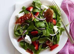 Get Arugula out, come already wash, sliced onion really thin and then in querters,...