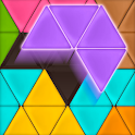 Triangle Tangram icon