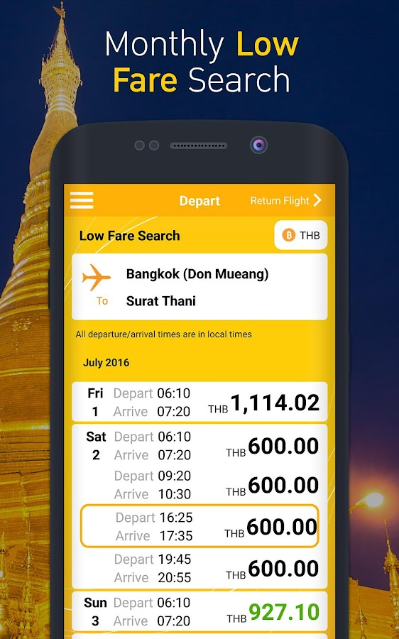 Nok Air- screenshot