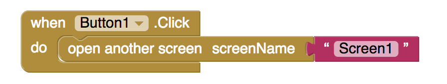code to display screen 2
