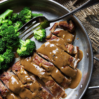 Pork with Indonesian Style Peanut Sauce