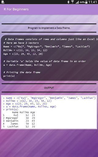 R For Beginners 2.9 screenshots 17