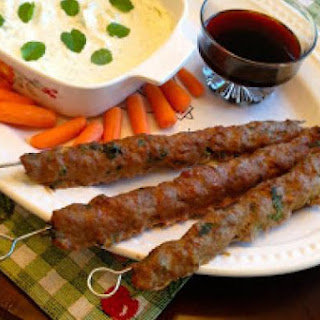 Sheesh Kabobs with Yogurt Dip