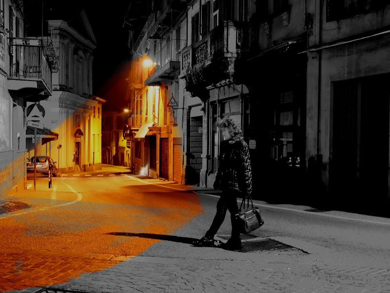 passeggiata serale in paese di tarpi