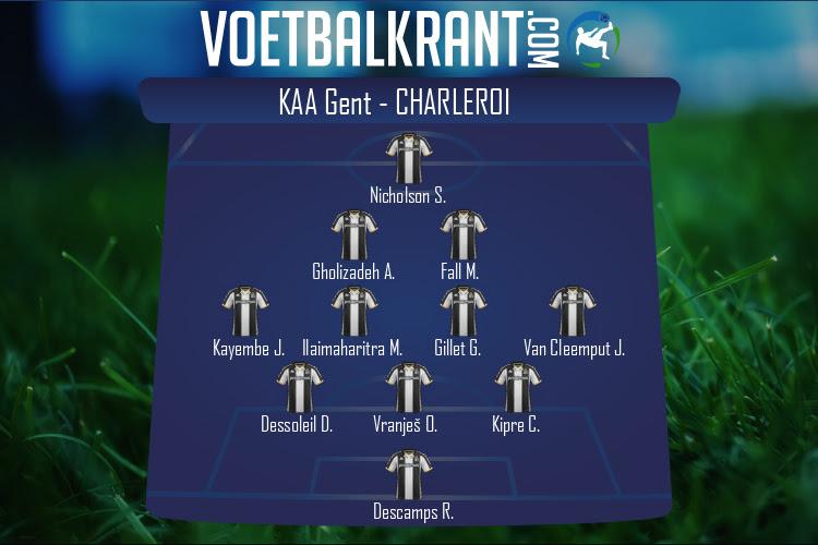 Charleroi (KAA Gent - Charleroi)