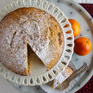 Cardamom, Orange & Honey Coffee Cake.