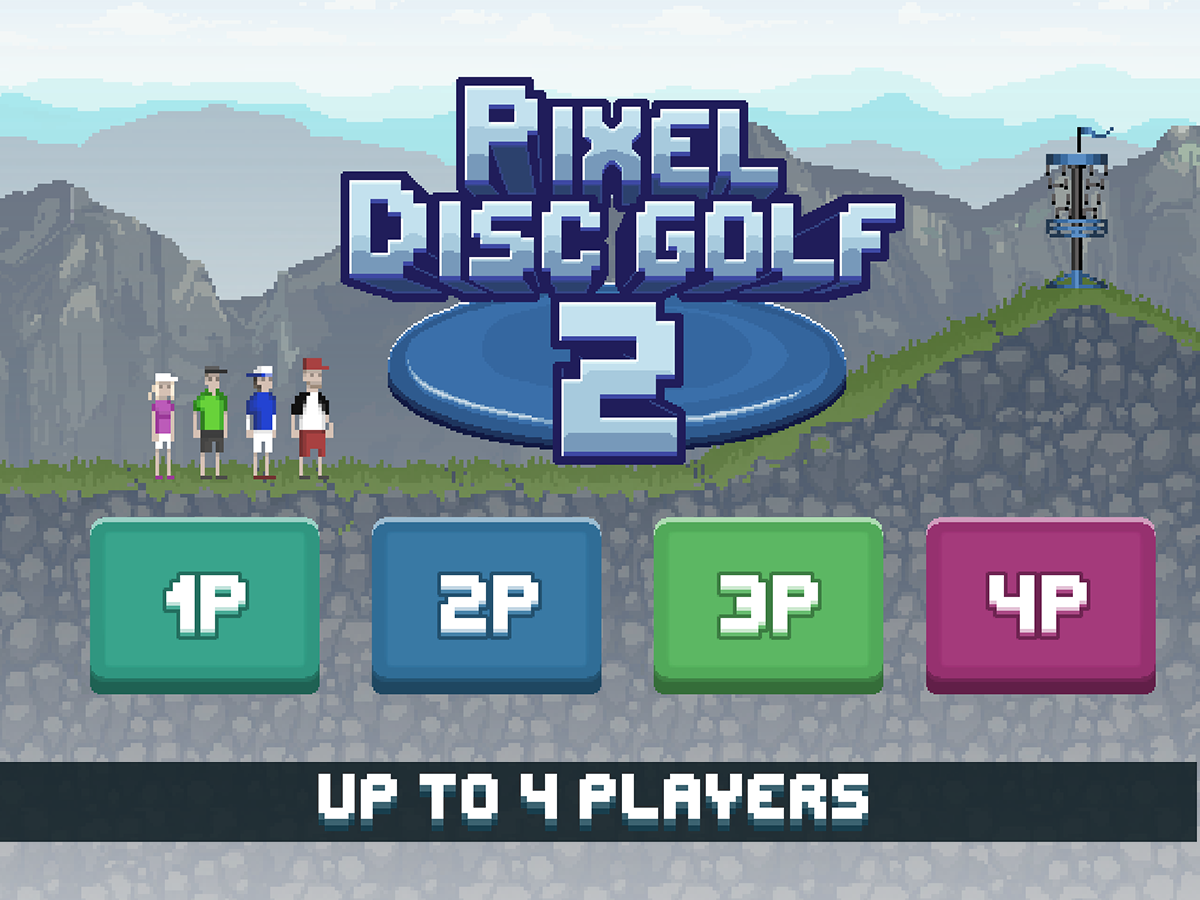 Pixel Disc Golf 2- screenshot