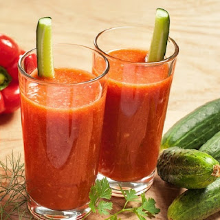 Vegetable Juice With A Blender Recipes
