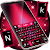 Keyboard Pink And Black file APK for Gaming PC/PS3/PS4 Smart TV