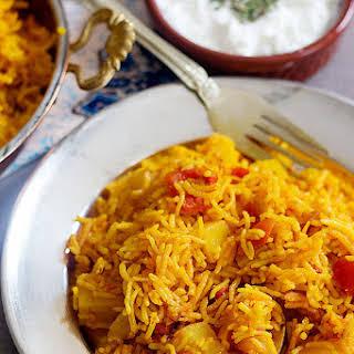 Persian One Pot Tomato Rice – Dami Gojeh Farangi.