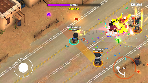 Warriors.io - Battle Royale & TPS mod apk 1.64 screenshots 4