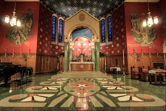 Photo: Sanctuary at Easter
