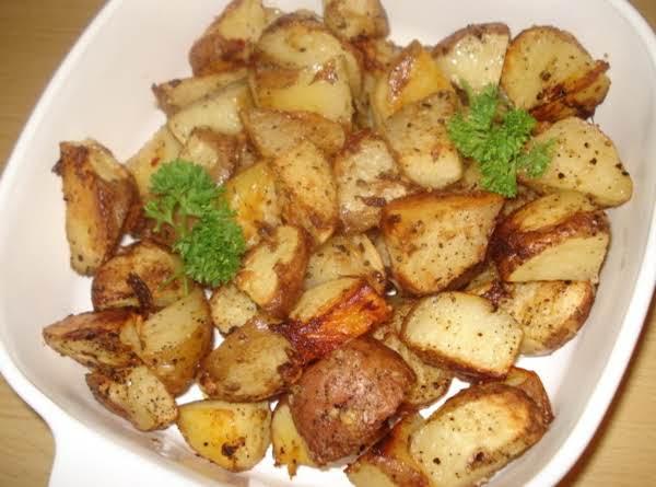Zippy Garlic Potatoes, (papas Asadas Al Ajillo)