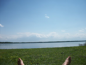 Photo: Feet relaxing at Knight Point State Park