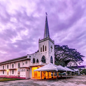 Church of Christ The King by Edwin Ng - Buildings & Architecture Places of Worship ( sungai petani, christianity, church, christ, malaysia, king )