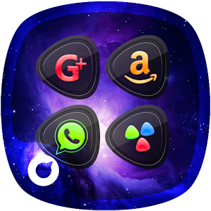 Galaxy - Solo Launcher Theme Icon
