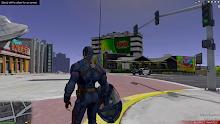 Strange Heroe Captain USA Army screenshot 2