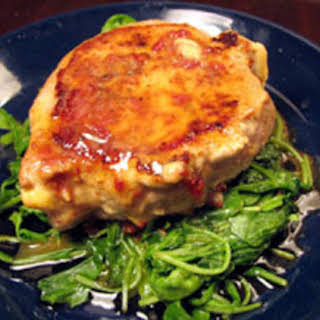 Pan-Fried Pork Chops with Chipotle Butter.